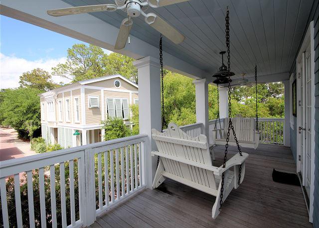 Balcony off 2nd Floor Master Suite
