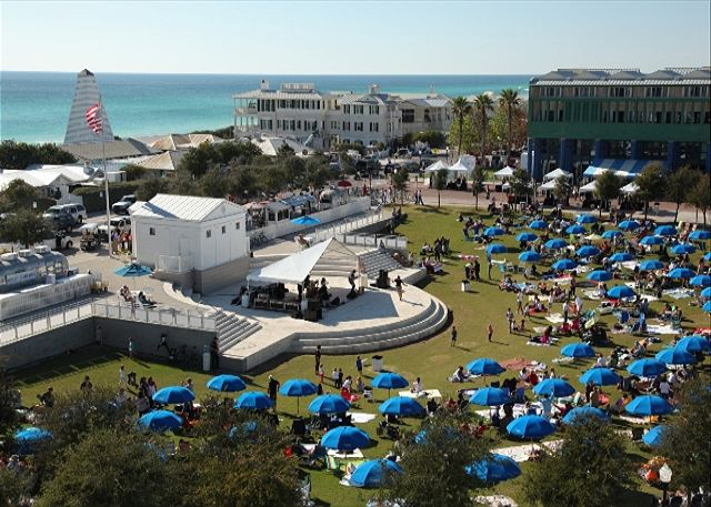 Town Square in Seaside, Florida