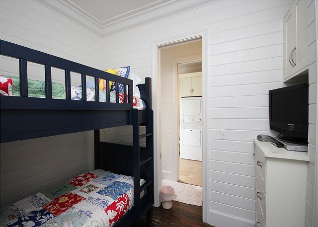 Kinds Bunk Room with flat screen TV