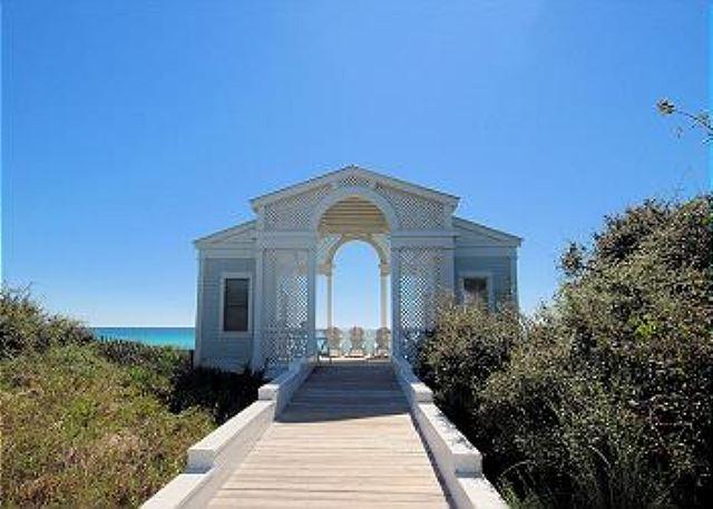 Private Tupelo Pavilion to Beach