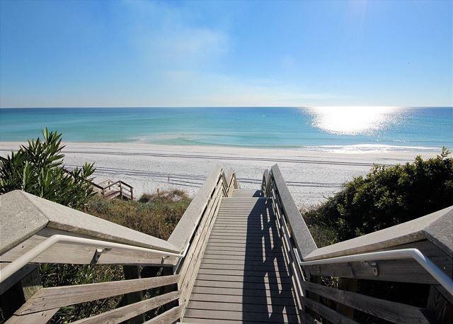 Boardwalk to Beach Access Right Across the Street!