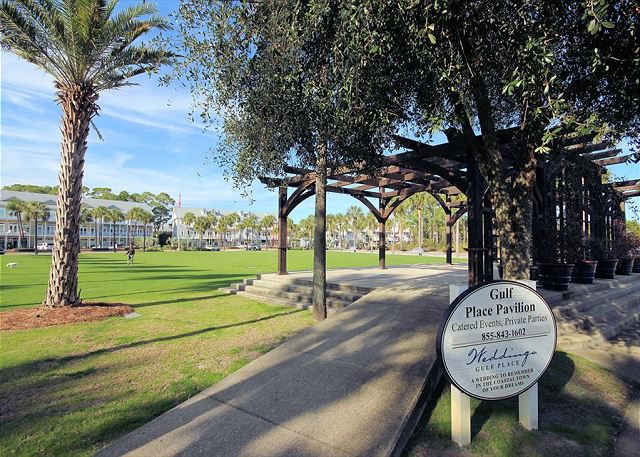 Gulf Place Pavilion & Green Space