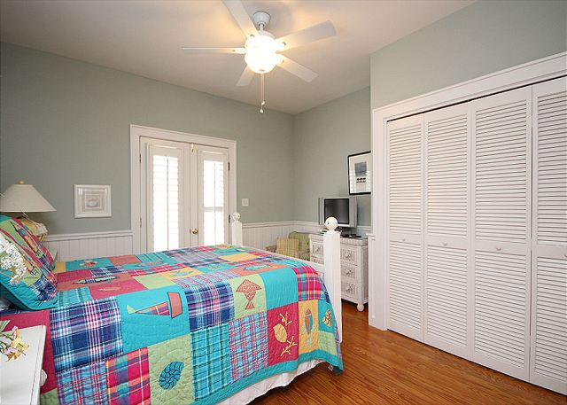 Master Bedrom with Flat Screen TV