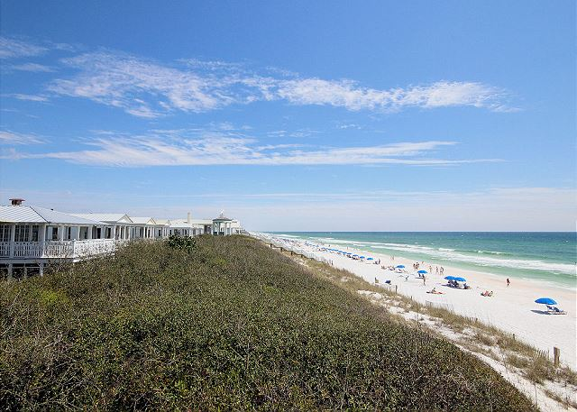 The beaches of Seaside, FL