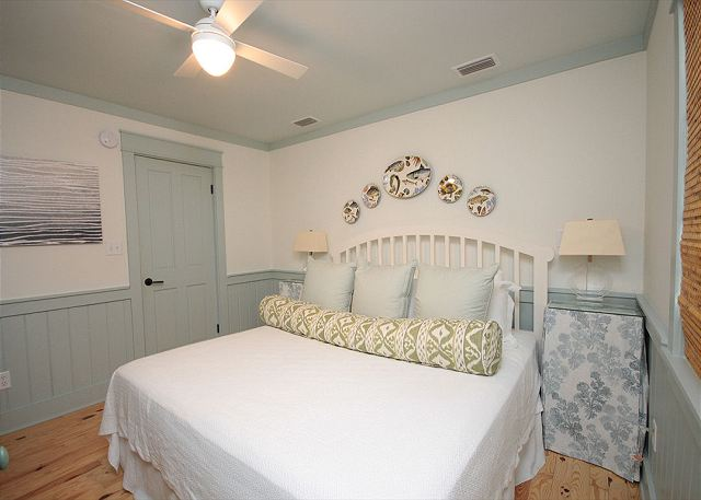 Downstairs King Master Bedroom with Private Bath