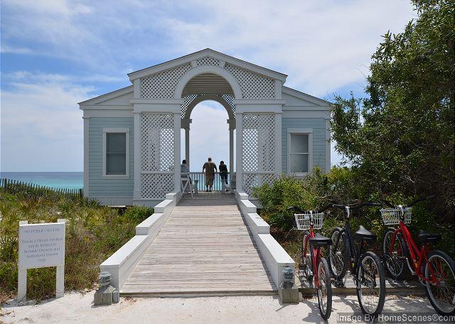 Tupelo Pavilion - Private Beach Access