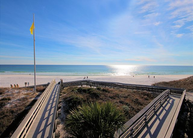 Gulf Place Beach Access