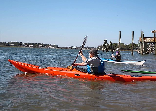 kayaking from your home