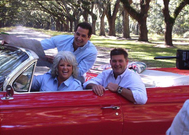 Paula Dean enjoyed a ride!