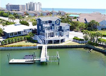 Big Nice House On The Beach vacation rentals on wrightsville beach, carolina beach & topsail