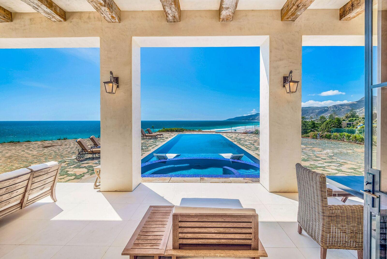 MAL-299 - Malibu Ocean Front Luxury Villa | SeaBreeze Vacation Rentals