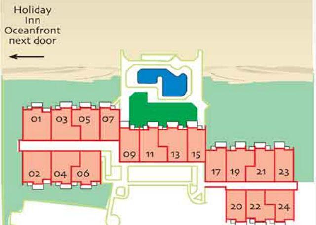 Ocean One Hilton Head Island Vacation Rental Property - Hilton properties map