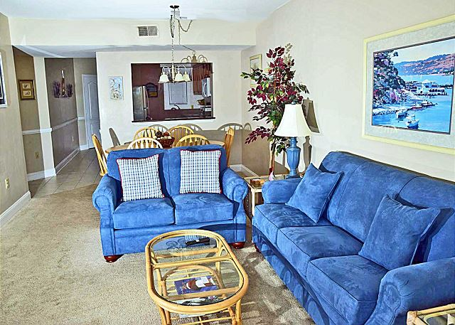 Shorewood 338 - Ocean View - 2 bedroom 3rd Floor Spacious Condo