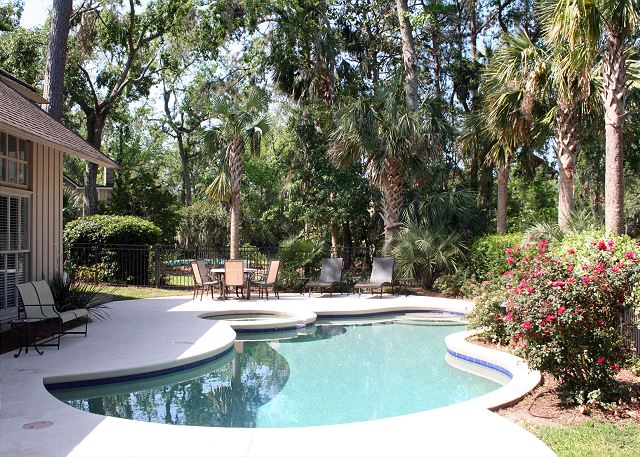 Red Maple 20 - Private Pool with Poolside Spa - HiltonHeadRentals.com