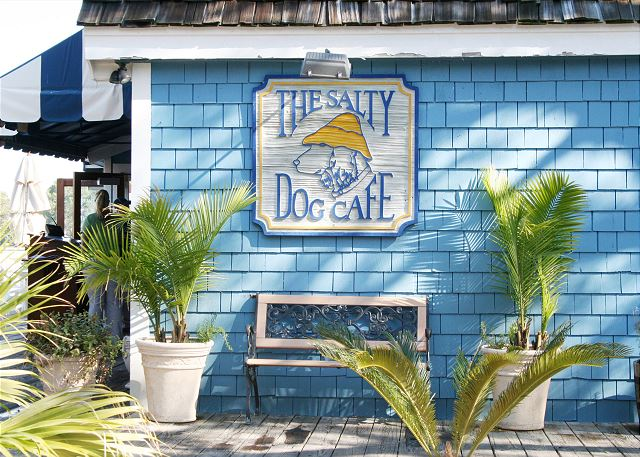 Walk easily to the Salty Dog!