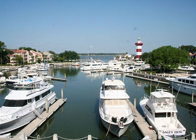Bluff Villas 1817 - Be sure to visit the Harbour Town Marina! - HiltonHeadRentals.com