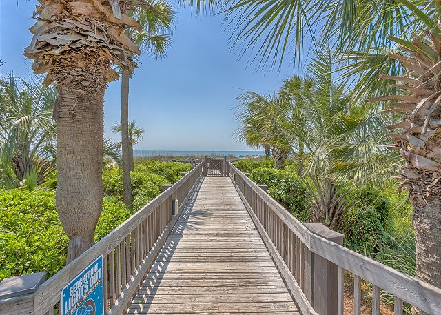 Breakers 219 - Private Walkway to the Beach! - HiltonHeadRentals.com