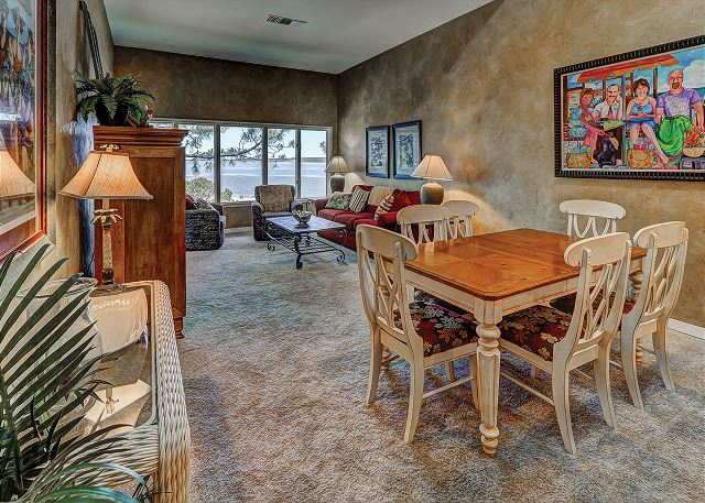 Beachside Tennis 1881 - Dining Room - HiltonHeadRentals.com