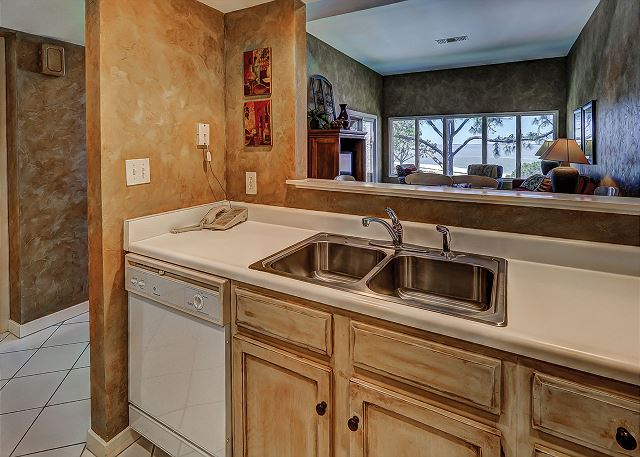 Beachside Tennis 1881 - Kitchen - HiltonHeadRentals.com