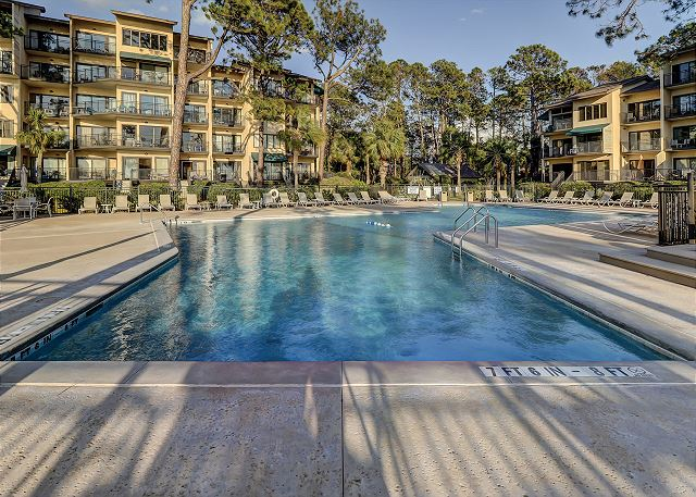 Beachside Tennis 1854 - Pool - HiltonHeadRentals.com