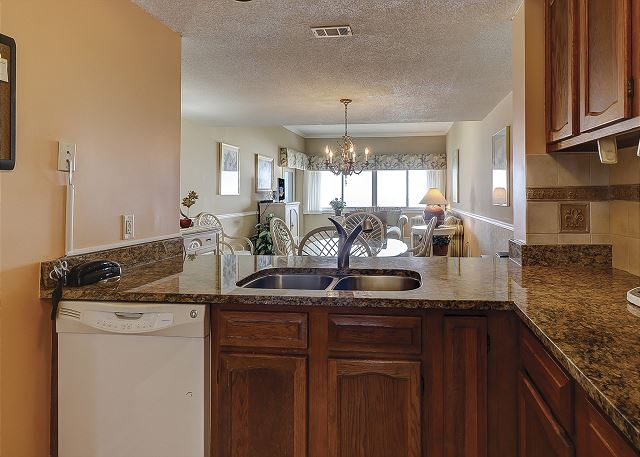 Captains Walk 481 - Kitchen - HiltonHeadRentals.com