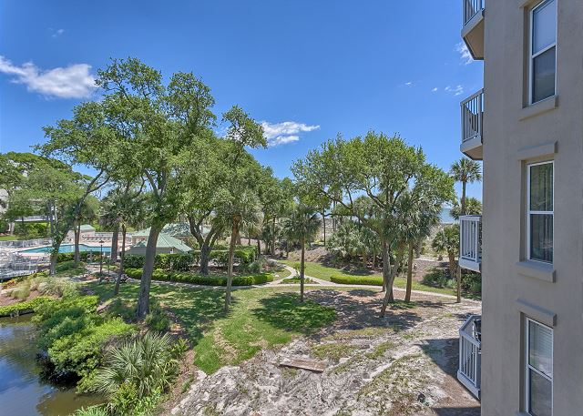 Barrington Court 210 - Ocean Views from 210 Barrington Ct. - HiltonHeadRentals.com