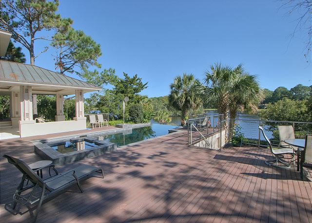 Full Sweep 16 - Private Infinity Pool & Spa - HiltonHeadRentals.com
