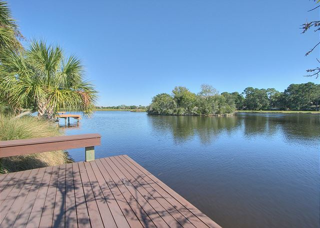 Full Sweep 16 - Private Dock - HiltonHeadRentals.com