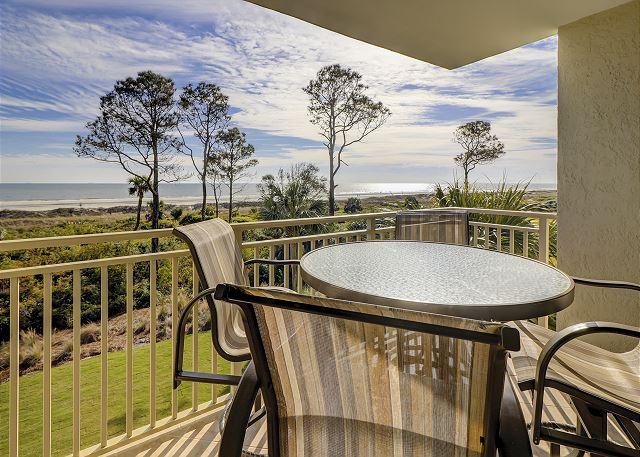Shorewood 308 - Private Oceanfront Balcony - HiltonHeadRentals.com