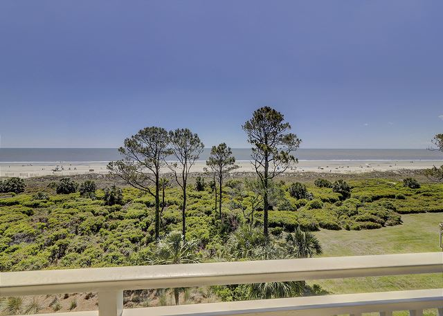 Shorewood 507 - Views from your Private Oceanfront Balcony - HiltonHeadRentals.com