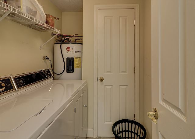 Windsor Place 107 - Laundry Room - HiltonHeadRentals.com