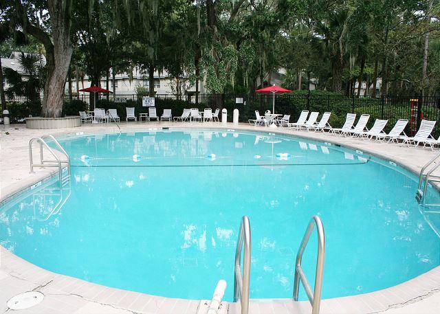 Sunny Pool measures 34' x 68'