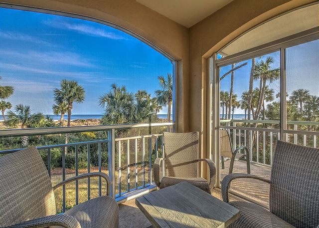 Windsor Place 108 - Ocean View Screened Porch - HiltonHeadRentals.com