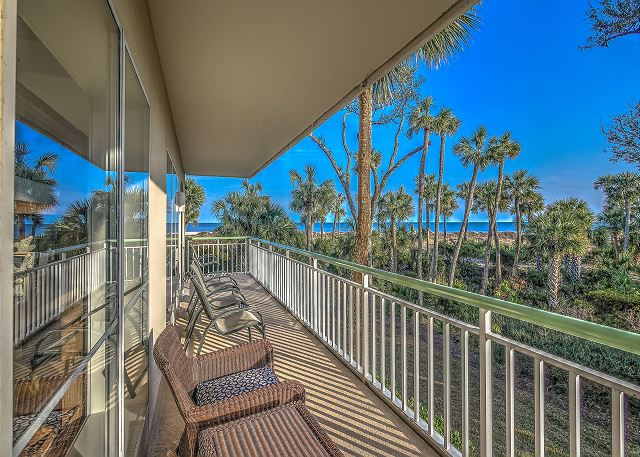 Windsor Place 108 - Balcony View - HiltonHeadRentals.com