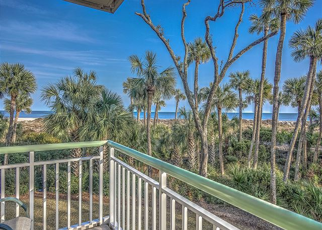 Windsor Place 108 - View from Wrap Around Balcony - HiltonHeadRentals.com