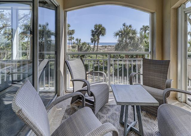 Windsor Place 108 - Screened Porch with breathtaking Ocean Views - HiltonHeadRentals.com