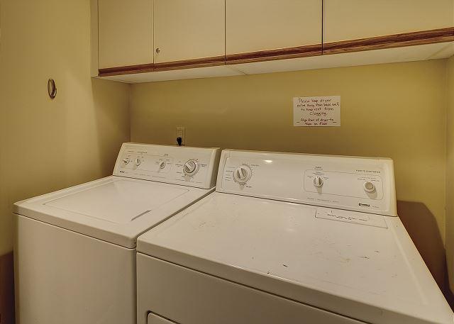 Evian 231 - Laundry Room - HiltonHeadRentals.com