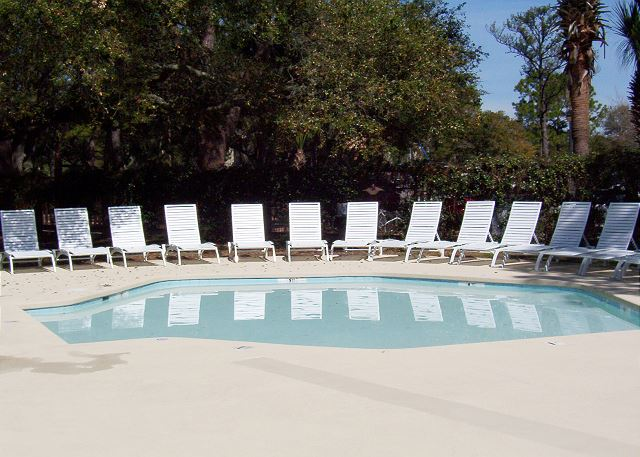 Fairwood Villa 159 - The Baby Pool at South Beach - HiltonHeadRentals.com