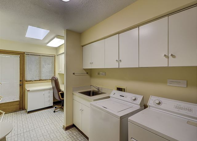 Laundry Room and Work Station