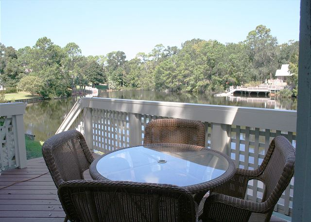 Back Deck with beautiful Lagoon Views