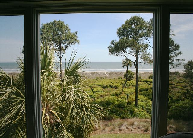 View from Oceanfront Living Room