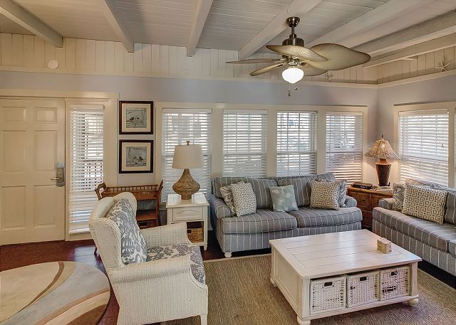 Living Room with TV & Sleep Sofa