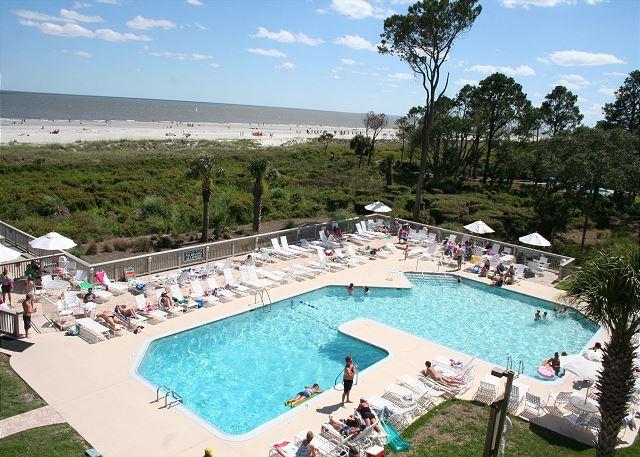 Oceanfront Pool measures 40 x 74