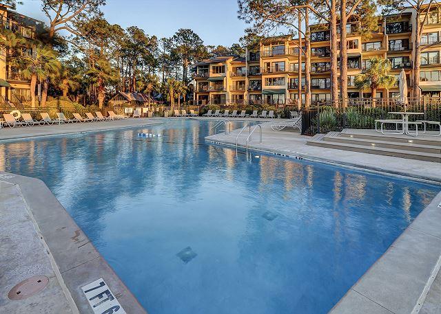 Beachfront Pool measure 62' x 21'