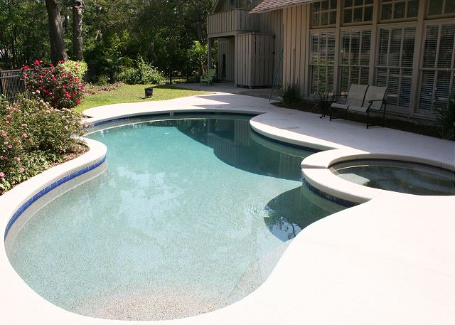 Red Maple 20 - Private Pool can be heated for a fee - HiltonHeadRentals.com