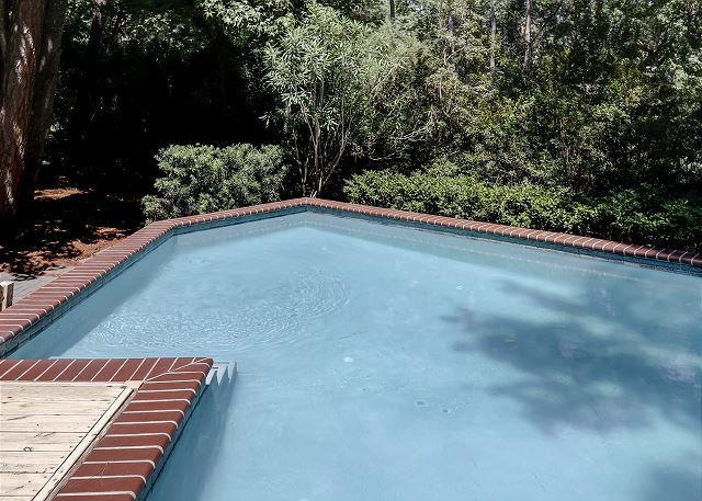 Private Pool measures 12' x 27'