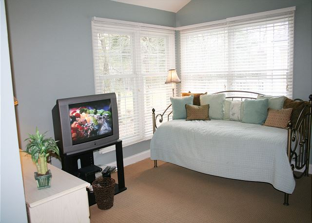 Master Bedroom TV & Day Bed