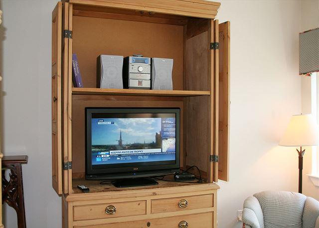 Bedroom flat screen tv