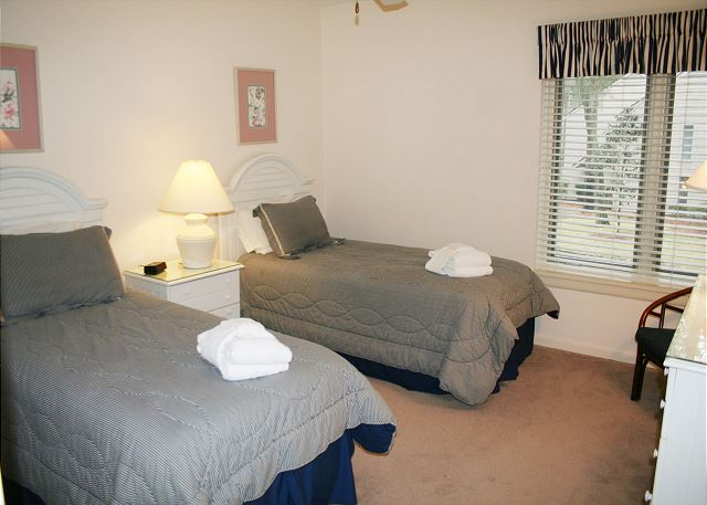Bedroom 3 with King beds & Private Bath