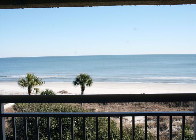 View from Private Oceanfront Balcony